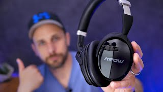 Mpow H5 Noise Cancelling Headphones Super Review