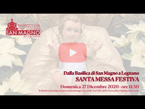 Dalla Basilica di Legnano la messa festiva