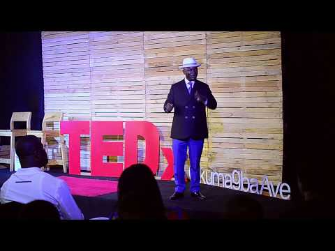 Dare to Aspire, Work to Become | Ben Igbakpa | TEDxOkumagbaAve