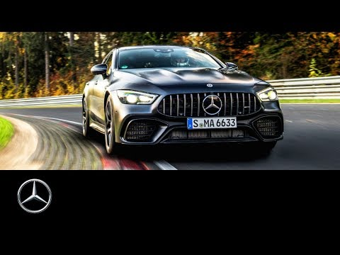 Mercedes-AMG GT 4-Door Coupé: New Nürburgring Record in the Green Hell