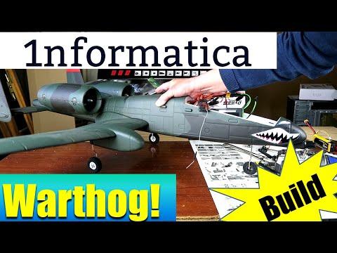 Dynam A 10 Warthog V2 1080mm Wingspan Dual 64mm Ducted EDF Jet Build