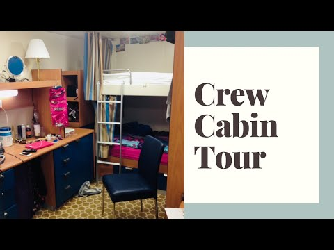 Crew Cabin Tour – Royal Princess Cruise Ship