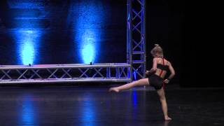 "Lilliana Ketchman 6 years old Contemporary Solo ""Battle Cry"""
