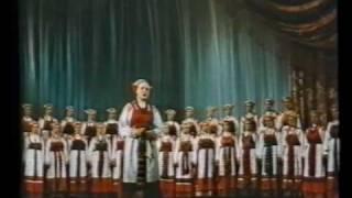 Russian Folk Song. СЕВЕРНЫЙ ХОР. Русская народная песня.1953
