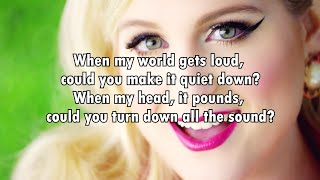 Meghan Trainor - Kindly Calm Me Down (Lyrics) 2016
