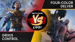 VS Live! | Grixis Control VS Four-Color Delver | Legacy | Match 1