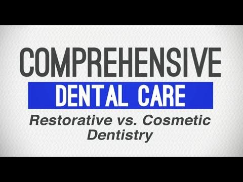Restorative Dentistry vs. Cosmetic Dentistry - Comprehensive Dental Care - Oscar Menendez, DDS