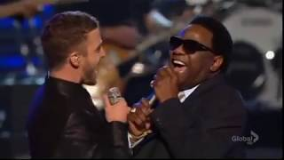 Justin Timberlake, Al Green, Keith Urban and Boyz II Men - Lets Stay Together (Live at Grammy 2009)