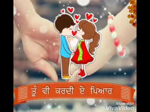 Tu V Kardi Ae Pyaar | ਤੂੰ ਵੀ ਕਰਦੀ ਏ ਪਿਆਰ  | Happy Raikoti | Whatsapp Status Video | HD