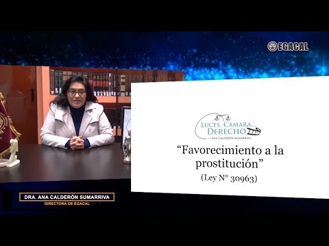DELITO DE FAVORECIMIENTO A LA PROSTITUCIÓN: MODIFICACIONES POR LA LEY 30963 - Luces Cámara Derecho 135