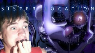FNAF Sister Location #2 | OH GOD, TIME FOR NIGHT 2 AND 3 OF DEALING WITH THESE CREEPY ROBOTS
