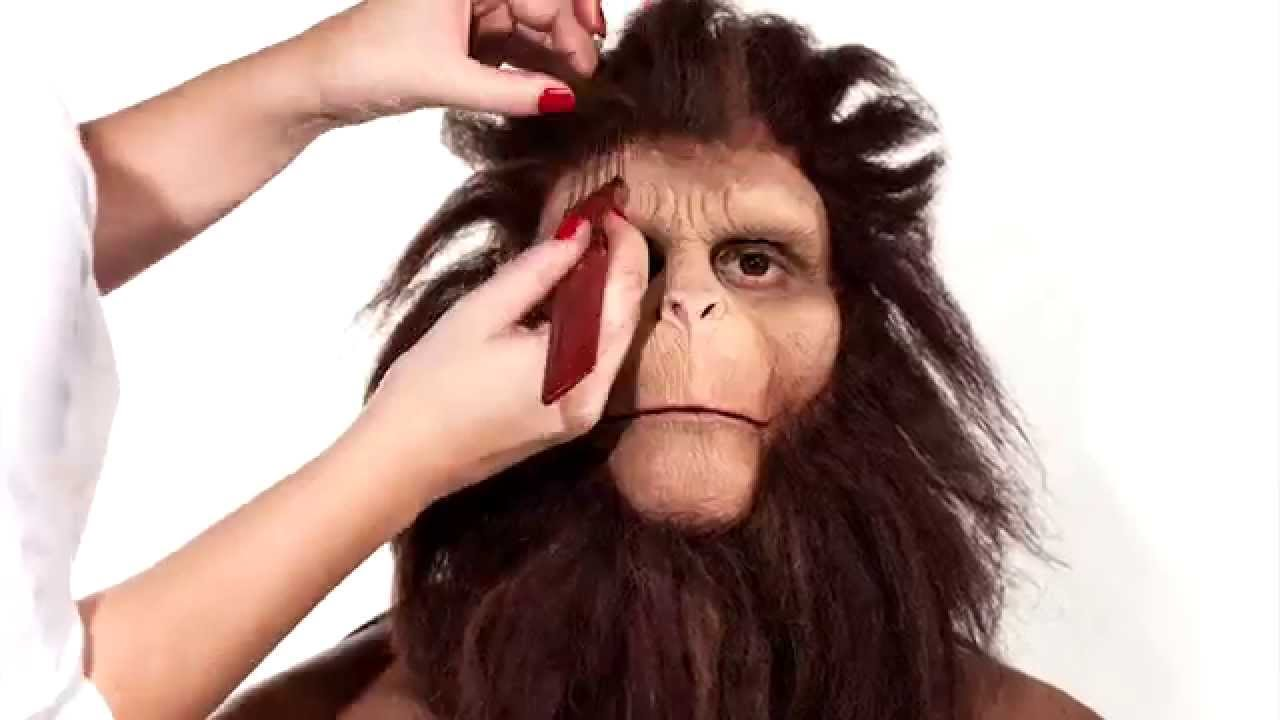 Timelapse Shows Guy Transforming Into Character From Planet Of The Apes