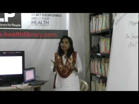Magnet Therapy By Dr. Jayshree Yeshwante HELP Talks Video