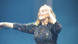 Adele Rolling In The Deep O2 London 21st March 2016