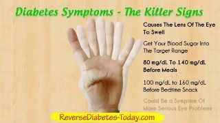 Diabetes Symptoms – Diabetes Type 2 and Diabetes Type 1