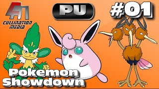 Simisage  - (Pokémon) - Pokemon Showdown Live: Simisage, Wigglytuff, and Dodrio: Three Amigos: Part 01