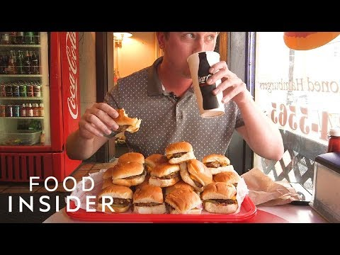 Can You Finish This Tray of Burger Sliders?