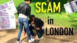 ILLEGAL STREET GAME In London //SHELL// Cups And Ball (scam)