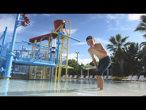 SNEAKING INTO A CLOSED WATERPARK!