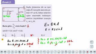 Eğitim Vadisi 11.Sınıf Fizik 23.Föy Elektrik ve Manyetizma 1 Konu Anlatım Videoları