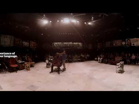 Barber Shop Chronicles: a 360° view of the play at the National Theatre