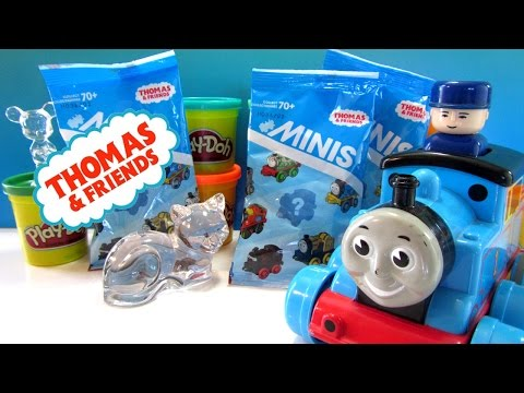 Thomas and Friends Minis Blind Bags. Opening Surprise bags - Spooky Percy - CKC