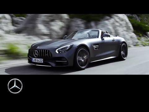 Mercedes Benz AMG GT Roadster Кабриолет класса A - рекламное видео 3