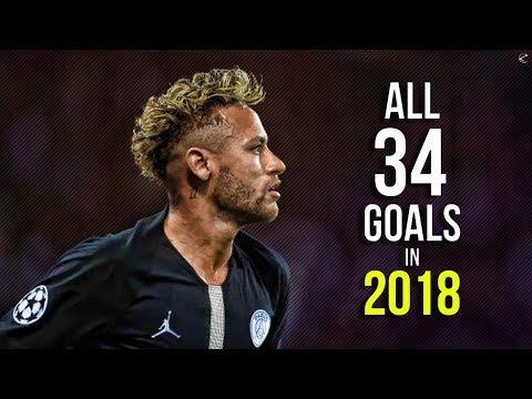 Neymar Jr ► All 34 Goals In 2018  | HD