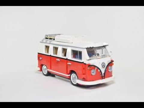 Vidéo LEGO Creator 10220 : Le camping-car Volkswagen T1