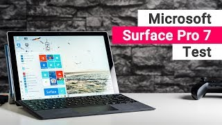 Microsoft Surface Pro 7 Test: Besser als andere Windows Tablets?
