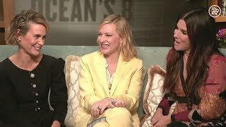 """""""Who would be the Thelma to your Louise?"""" Sarah Paulson, Cate Blanchett, Sandra Bullock"""