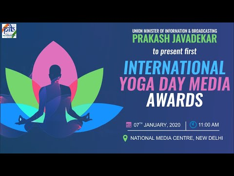 Union Minister Prakash Javadekar to present First International Yoga Day Media Awards