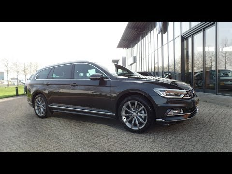 Volkswagen Passat variant R Line 2018 Mangan Grey Metallic R Line int & ext.  18 inch Montery