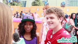 Henry Danger Cast Interview   2016 Kids' Choice Sports Awards
