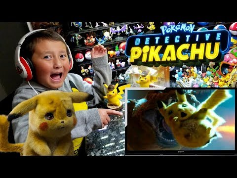 OFFICIAL POKEMON DETECTIVE PIKACHU MOVIE 2019 TRAILER #1! REAL TIME/ LIVE REACTION!!