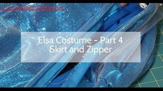 Disneys Frozen - Elsa Costume Tutorial Part 4