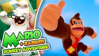 ¡Donkey al rescate! - #01 - Mario + Rabbids DK Adventure en Español (Switch)