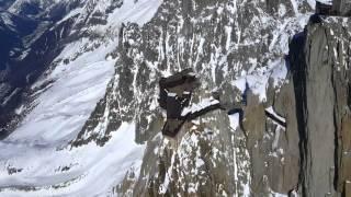 Vol en Hélicoptère au dessus du Mont Blanc