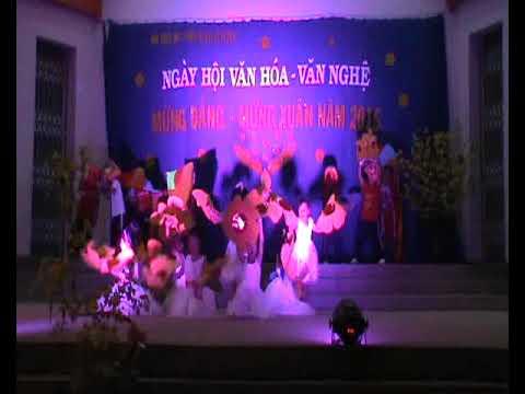 Múa mừng Đảng mừng Xuân 2015 - Mầm non Đông Hồ