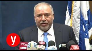 """ליברמן: """"נתניהו נוהר לערבים, תכנן ממשלת מיעוט איתם"""""""
