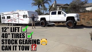 CAN THIS HUGE TRUCK STILL TOW?!