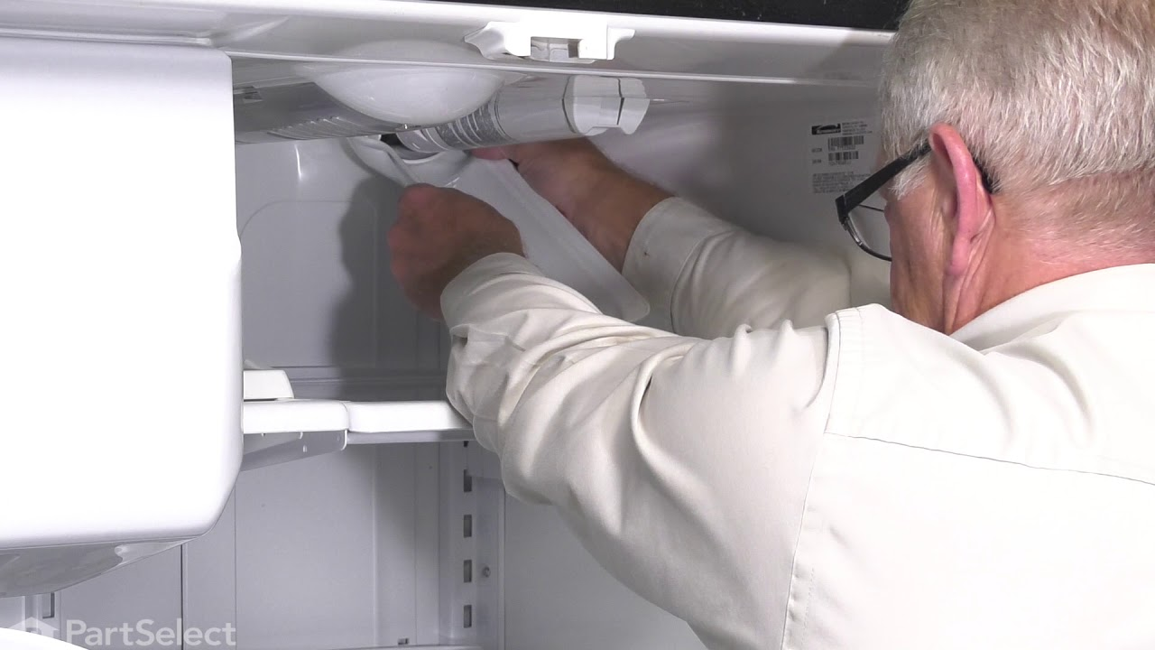 Replacing your Maytag Refrigerator Water Filter Cover