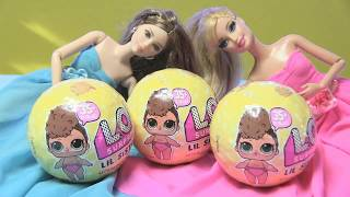 Búp Bê Barbie Mở Banh LOL Mùa Mới Nhất / Đồ Chơi Mỹ/ chị Bí Đỏ / L.O.L SURPRISE Balls Series 3