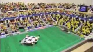 レゴでチャンピオンズリーグの決勝バイエルン対ドルトムント