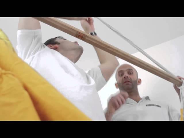 Видео Крепления La Siesta Home Rope для подвесных стульев black