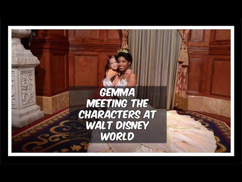 Meeting Characters At Disney World