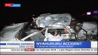 Five family members killed in Nyahururu accident