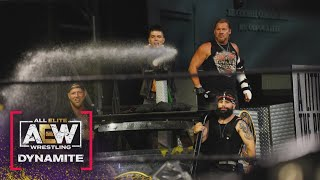 "Photo: Chris Jericho & The Inner Circle Celebrate Giving The Pinnacle A ""Bubbly Bath"""