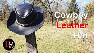 How To Make A Leather Cowboy Hat