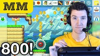Morning Mario #800 • Making My First Level